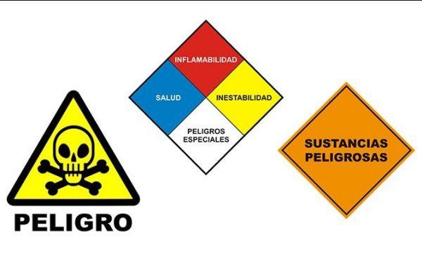 Recepción de materiales peligrosos provenientes de transporte por carretera