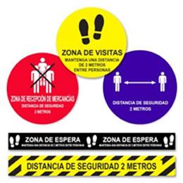 Señaléticas de seguridad  Covid-19